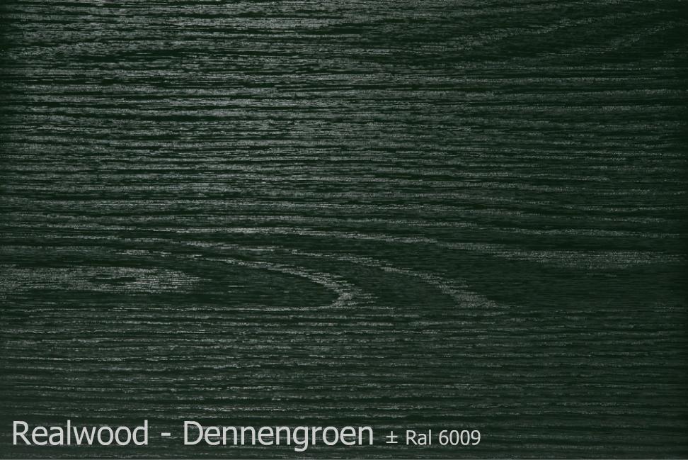 Realwood - Dennengroen Ral 6009