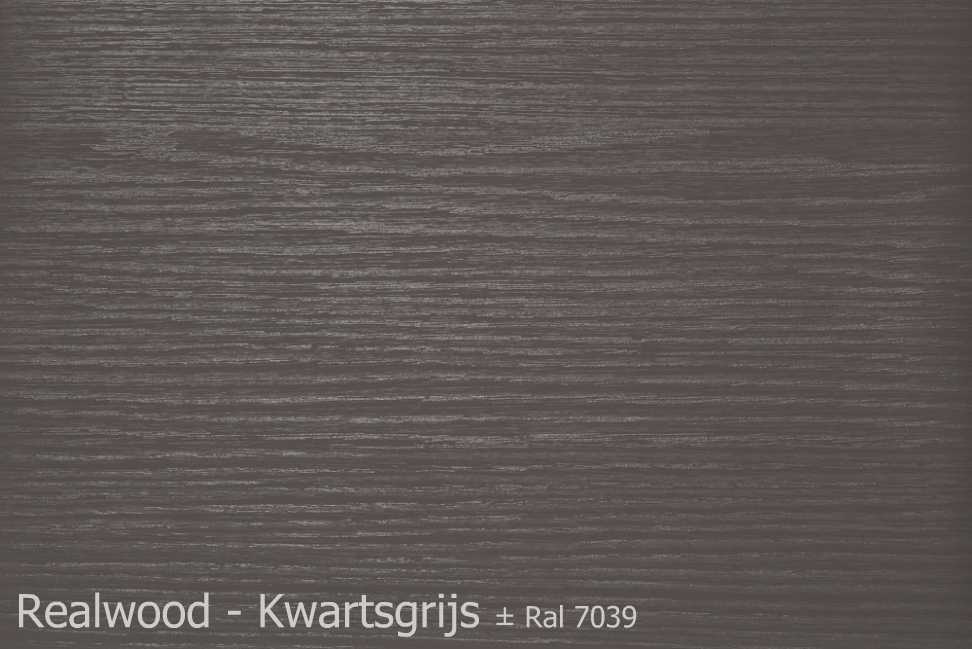 Realwood - Kwartsgrijs Ral 7039